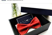 Sheep Leather Bowtie (Italy) by Divaincollections 100% Genuin Leather Italy