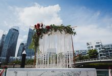 Bohemian Summer Wedding In A Yacht by Yours Fetefully