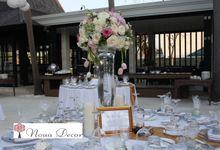 Nisa & Richard Wedding The Royal Santrian by Noua Decor Wedding & Event Floral Decoration