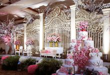 The Wedding of Johannes & Lyonita at Hotel Millenium Jakarta. by The Swan Decoration