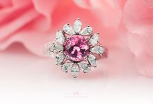 Fancy Pink Ring by Draco Diamonds