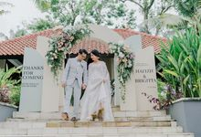 Hafizh & Brigitta by Prasetyo Wedding Organizer