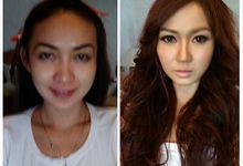 Before & After Makeup by Kenshie Lie MUA