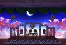 minimalis Weddingvideo Mapping Medium Package by D n A Decoration