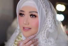 The Wedding of Athifa & Agam by Mayrindra Makeup Artist