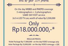 Hi Brides and Grooms to be... here is our best deal.. see you soon Guys by PULSE PICTURES
