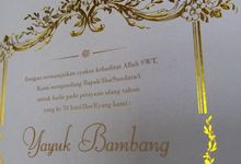Birthday Invitation by Derzia paper