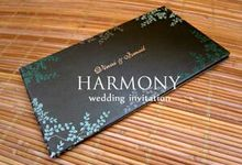 Portfolio by Harmony Wedding Invitation