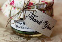 Customized Wedding Souvenir by Jolie Belle