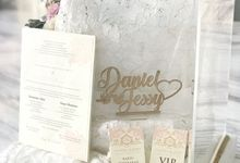 The Wedding of Daniel & Jessy by CONSERVÉ FLOWER PRESERVATION