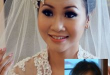Dicky & Ivana Wedding by Marcelline Vony MUA
