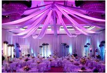 Ballroom setting by Grand Hyatt Bali
