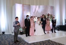 MC Wedding Intimate at Sheraton Gandaria Jakarta by Anthony Stevven by Anthony Stevven