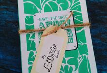 Anggi - Guntur (Vintage Green Invitation) by Elderco.id