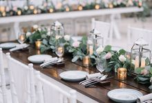 Julia & Liam Modern Sweet Wedding by Silverdust Decoration