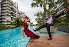 Leo & Evelyn [Crazy Wedding Shoot] by GrizzyPix Photography