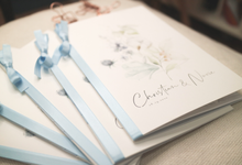 Wedding Stationeries for Christian & Novie by earlgreymeg