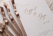Holy Matrimony Book for Anggrit & Yoga by earlgreymeg