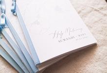 Holy Matrimony Book for Suwandi & Wiwi by earlgreymeg