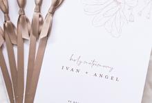 Holy Matrimony Book for Ivan & Angel by earlgreymeg