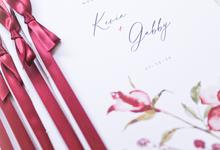 Holy Matrimony Book for Gabby & Kevin by earlgreymeg