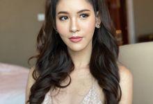 Elegant look by Thai model by Thiyada Angela MUA