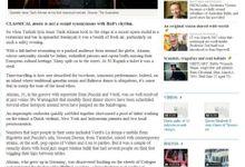 Tarik The Tenor on  The Australian Newspaper by Tarik The Tenor ( The Luxury Entertainment )