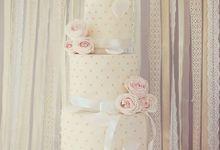 The Wedding Cakes by Creme de la Creme Bali