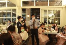 MC Wedding Intimate at Blue Jasmine Jakarta - Anthony Stevven by Anthony Stevven