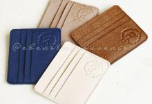 Cardholder C - 3 slot for Anthoni & Irene by Ebenola Souvenir