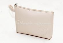 Zipper Pouch 7 inch for Mutia & Arifin by Ebenola Souvenir