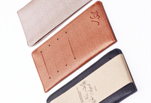 Cardholder Long - 4 Slot for Nis & Agid by Ebenola Souvenir