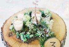Green Decor for your Big day by Gioflorist