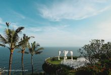 Wedding on Cliff Khayangan Estate by Maxtu Photography