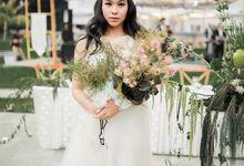 The wedding of Hayomi & Rizal by Amorphoto