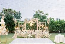 The Wedding of Ivan & May by Red Gardenia