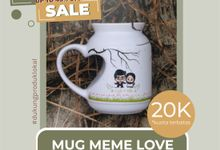 FLASH SALE MUG MIMI LOVE by Mug-App Wedding Souvenir