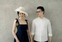 The Indoor Prewedding of Leslie & Tiffani by Claise Photography