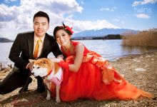 Pre wed - Steven & Shan Shan by Twins photography