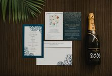 Denis & Lauren Wedding at The Seminyak by Varawedding