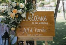Jeff and Varsha Wedding at Grand Hyatt Nusa Dua by Becik Florist