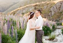 Three day Pre-Wedding shoot in New Zealand by Feather and Stone Photography