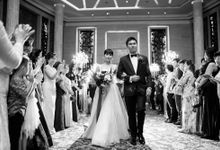 Edwin and Angela The Reception by Fernand Chrisgerald