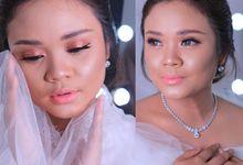 International Bride Make Up .  Ms. debora by Pangestwury MakeOver