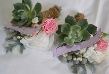 Wedding bouquets by Rhea flowers shop