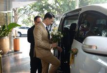 Wedding story of Zulvan n Yoe Chien by sapphire wedding car