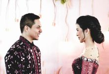 Cynthia & Osca Engagement Decoration by Nona Manis Creative Planner