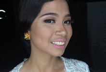 Simple Bridal Look by ekaraditya4makeup