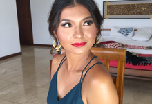 Garden Party Makeup Look for Mrs. Tara by ekaraditya4makeup