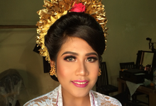 Balinese Wedding Makeup  by ekaraditya4makeup